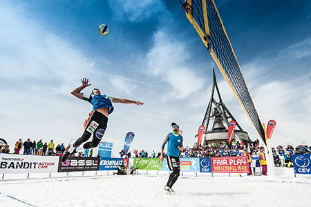Bild zur Petition mit dem Thema: 2022 Snow Volleyball goes Winter Olympics in Beijing