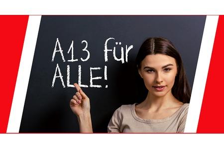 Nrw alle lehrer A13 für