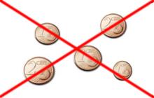 Abschaffung 1 Und 2 Cent Münzen