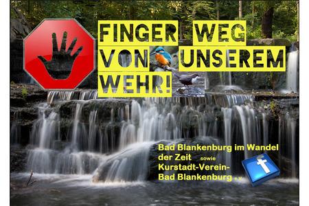 Das Schwarza-Wehr in Bad Blankenburg muss erhalten bleiben
