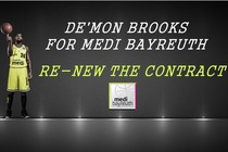 De'Mon Brooks: Must Stay With medi bayreuth