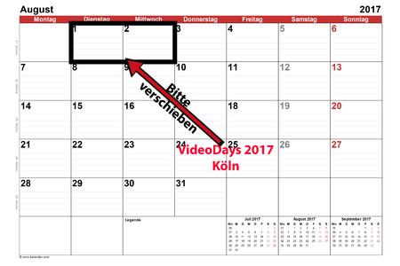 Die Videodays 2017 In Köln Müssen Verschoben Werden Online Petition