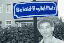 Ein Belaid Baylal Platz in Bad Belzig