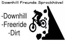 eine legale Downhill / Freeride Strecke in Sprockhövel