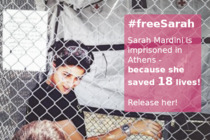 Freedom for lifesaver Sarah Mardini! #freeSarah
