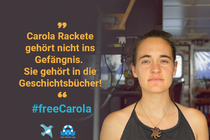 Freedom for Mrs. Rackete #FreeCarola