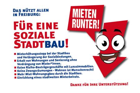 Für Eine Soziale Stadtbau Mieten Runter In Freiburg Online