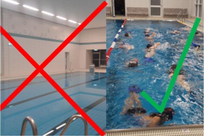 Das Bad soll weiterhin ganzjährig genutzt werden, das fordern wir!