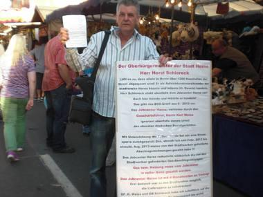 Bild zur Petition mit dem Thema: Gerechtigkeit für Manni Leid