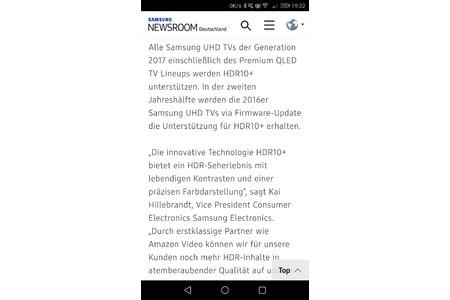 HDR10+ Update für 2016er Samsung-SUHD TVs - Online-Petition