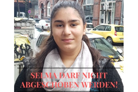Bild zur Petition mit dem Thema: Born in Hamburg Selma can not be deported!