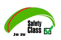 JA zum Safety Class Test des DHV!