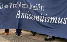 Keine Chance für Antisemiten   No chance for anti-Semites