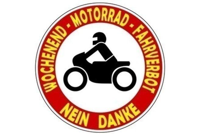 Motorradverbot