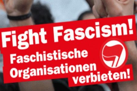 Keinen Fußbreit den Faschisten am 7.5. in Hildburghausen