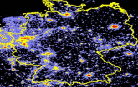 Lichtverschmutzung Karte Europa.Neue Wege Beim Energie Sparen Gesetz Gegen Lichtverschmutzung