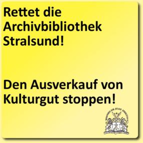 Rettet die Archivbibliothek Stralsund