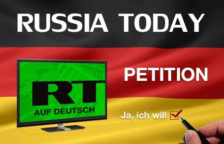 Russia Today auf Deutsch Petition