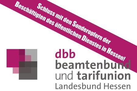 Schluss mit den Sonderopfern der Beschäftigten des öffentlichen Dienstes in Hessen!
