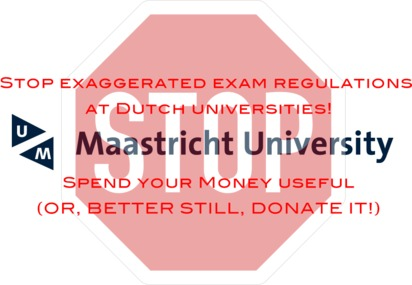 Stop exaggerated exam regulations at Dutch universities!