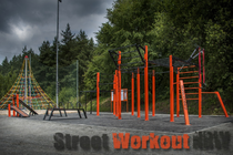 Street-Workout Park in Achern