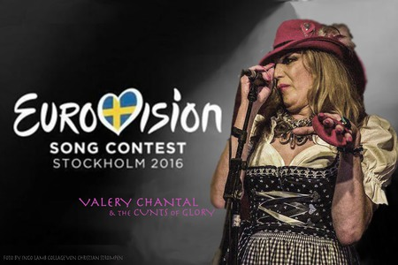 "Bild zur Petition mit dem Thema: ""Valery Chantal & The Cunts of Glory"" sollen für uns nach Stockholm zum ESC 2016"