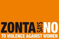 """ZONTA SAYS NO. Zonta sagt Nein zu Gewalt gegen Frauen. Ja zur """"Istanbul Convention""""*."""