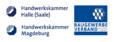 Logo of organization Aktionsbündnis der Handwerkskammern Halle und Magdeburg, sowie dem Baugewerbe-Verband Sachsen-Anhalt
