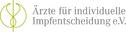 Logo of organization Ärzte für individuelle Impfentscheidung e.V.