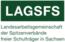 Logo of organization Landesarbeitsgemeinschaft der Spitzenverbände freier Schulträger in Sachsen (LAGSFS)