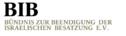 Logo of organization Bündnis zur Beendigung der israelischen Besatzung BIB e.V.