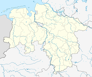 Map of Buxtehude with markings for the individual supporters