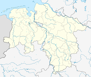 Map of Oldenburg with markings for the individual supporters