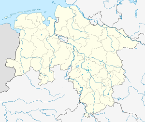 Map of Hanover-Mitte with markings for the individual supporters