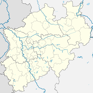 Map of Siegburg with markings for the individual supporters