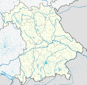 Map of Passau with markings for the individual supporters