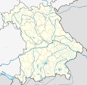 Map of Pfarrkirchen with markings for the individual supporters