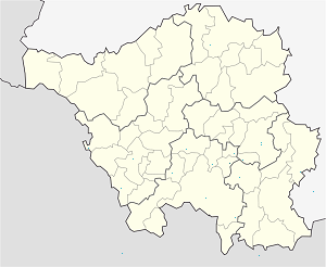 Map of Sulzbach/Saar with markings for the individual supporters