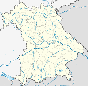 Map of Amberg with markings for the individual supporters