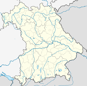 Map of Miltenberg with markings for the individual supporters