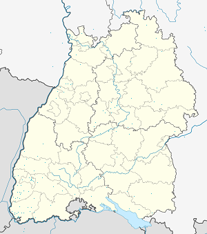 Map of Weil am Rhein with markings for the individual supporters