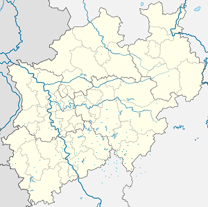 Map of Siegen-Wittgenstein with markings for the individual supporters
