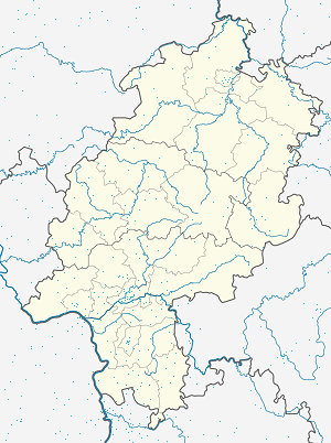 Map of Grasellenbach with markings for the individual supporters