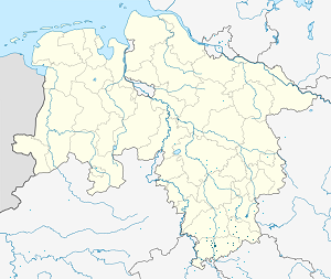 Map of Göttingen district with markings for the individual supporters