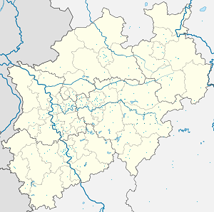 Map of Hochsauerlandkreis with markings for the individual supporters