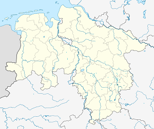 Map of Landkreis Wolfenbüttel with markings for the individual supporters