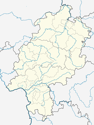 Map of Niedernhausen with markings for the individual supporters