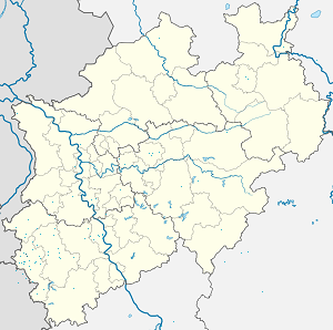 Map of Würselen with markings for the individual supporters