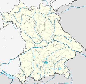 Map of Landkreis Ebersberg with markings for the individual supporters