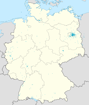 Map of Berlin-Brandenburg with markings for the individual supporters
